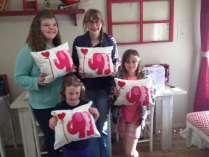elephant pillow class
